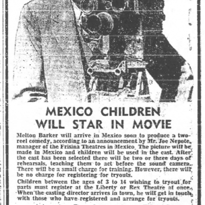 Mexico Ledger (MO), October 20, 1950, courtesy of James Breig