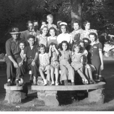 Oklahoma City cast photo, courtesy of Bill Moore