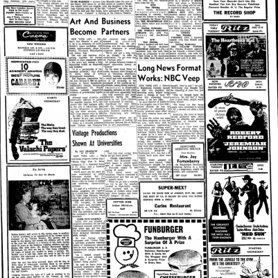 Big Spring Herald March 25, 1973 full page