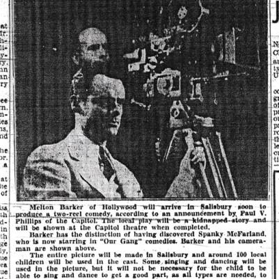 Salisbury Evening Post,  June 6, 1941, courtesy of Barbara Earley