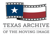 Texas Archive of the Moving Image Logo
